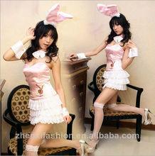 la fiesta de navidad uniforme del conejito bunny traje ropa de bastoneras ds traje de la danza