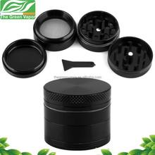free sample 4 parts wholesale herb grinder, 62mm CNC aluminum herb grinder
