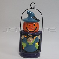 Halloween ceramic decorative hanging lanterns
