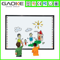 China Low Price Dual Finger Touch Whiteboard Electronic Interactive Whiteboard