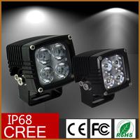 Off road atv led spotlight / led driving light/ 12w9-32v dc auto led work lights 18w