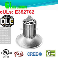 UL DLC listed 150w warm white led high bay light available in US warehouse with 6 years warranty