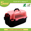Factory direct wholesale portable plastic dog kennel size