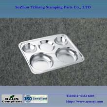 eco friendly stainless steel dinner plate, dinner plate set