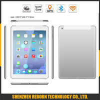 9.7 inch IPS Screen Metal Back Quad Core Android Tablet with 16gb