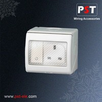 Best Price Electric Waterproof Switch And Socket Electrical Switch For UK