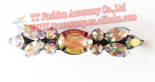 fashion crystal hair claw clip banana