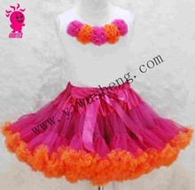 Cute hot princess sale pettiskirt dress for baby with kinds of color