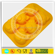 heat resistant oven safe bakeware with silicon handle