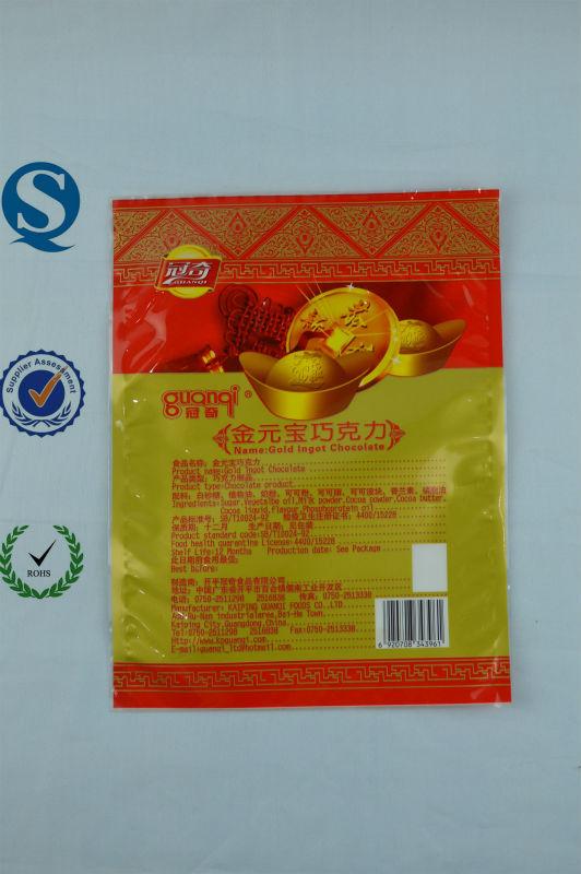 Sacs d'emballage pour aliments de collation