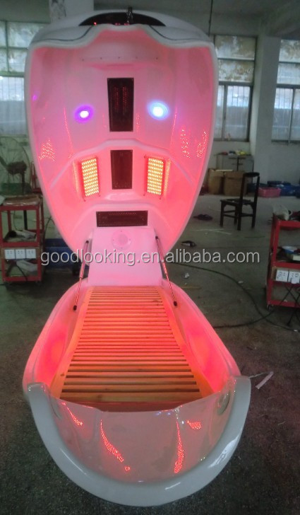 2015 best infrared ozone cabinet/Infrared Dry Steam Sauna Cabin/slimming spa capsule/ Salon Infrared Light Spa Capsule