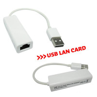 usb2.0 10/100 Mbps ethernet lan network RJ45 adapter For Apple Mac MacBook Air Andriod Tablet Laptop PC