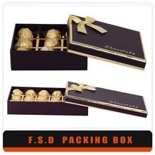 Handmade Custom Design Chocolate Chinese Food Packaging Box
