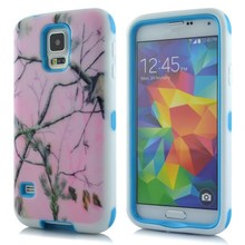 New arrival mobile phone accessory armor combo case for Samsung S5