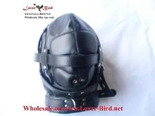 leather hood mask stylish latex hood