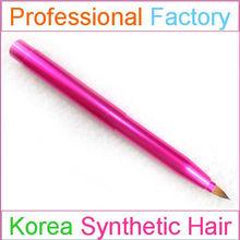 Factory custom logo color shine makeup lip brushes
