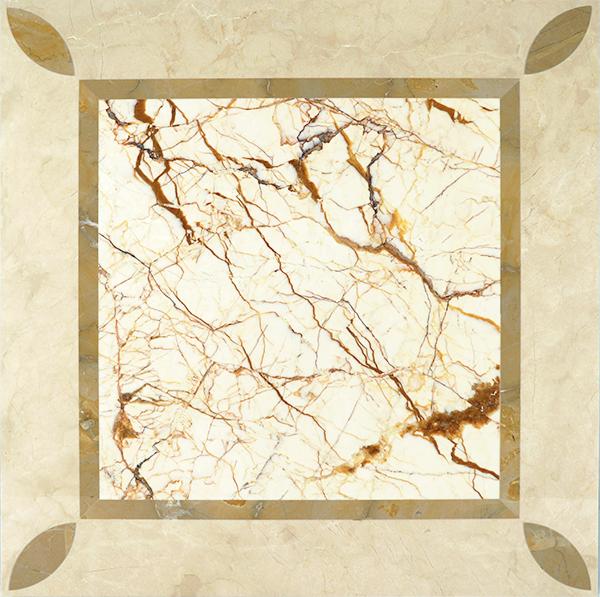 MPC21G66 Moreroom Stone Waterjet Artistic Inset Marble Panel-1.jpg