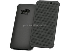 dot view case for HTC M9, For HTC one M9 dot view case