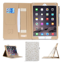 New design Hot sale High Quality Alibaba wholesale PU leather case for Apple ipad 6