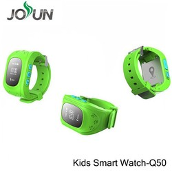 Best quality Emergency GPS Tracker Security Children Kids Smart Watch Q50 With SOS Phone Call gps tracker cat