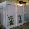 pvc puerta de baño cuarto de baño de pvc precio de la puerta