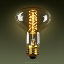 R80 E27/E26/B22 Spiral Vintage Lamp Edison bulbs Edison lights