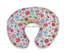 Infant Feeding/Support Pillow with Backyard Bloom Slipcover,Pillow for breastfeeding