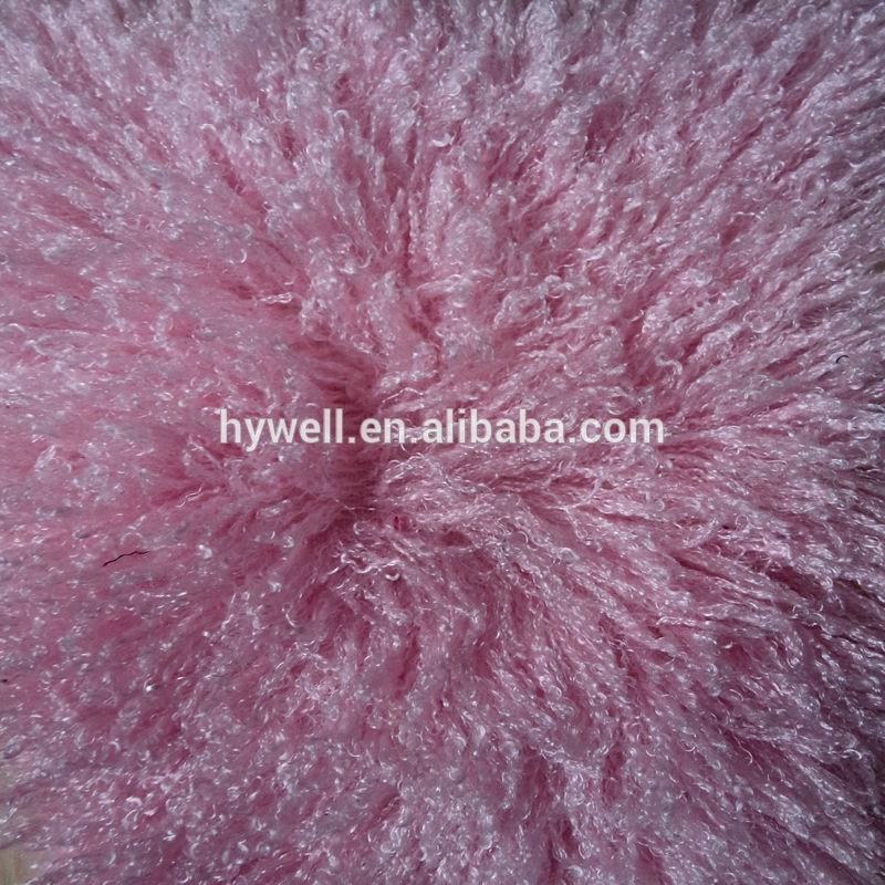 100% poliéster cabelo comprido plush para brinquedos macios tecido