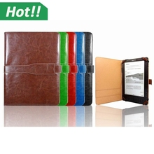 2015 For Kindle Fire HDX 7 Case, Flip Leather Stand Back Case Cover Skin Pouch For Amazon Kindle Fire HDX 7 2015
