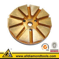 Metal Bond Segmented Diamond Concrete Polishing Pads