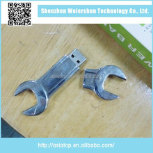 New design Support Multi-system metal wrench otg usb flash drive
