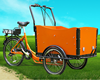 2015 hot sale three wheel trike bike open box cargo tricycle