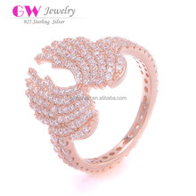 Fashion Angel Wing Ring For Engagement Wedding Or Parties