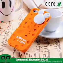 Mickey Mouse cute 3d silicon animal case for iphone 5