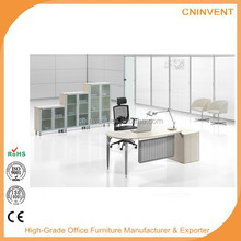 Office writing computer desk with pedestal