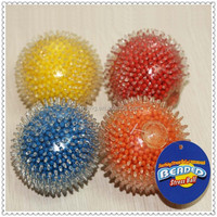 70mm TPR soft plastic beads stress ball for promotion gift