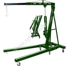 2 Ton Folding Manual Hydraulic Picker Engine Crane Shop Press Hoist Lift engine lifts