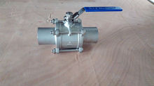 Stainless Steel ball valve 1000WOG Long Stem