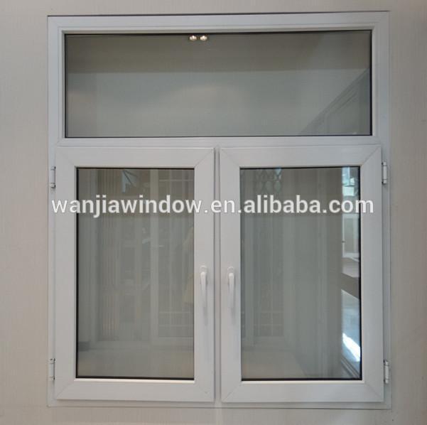 Elegant Design Reasonable Price Pvc Casement Glass Window