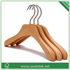Branded wooden hanger for children/ baby clothes hanger