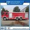 High quailty 6X4 15T aerial ladder fire truck with water tanker