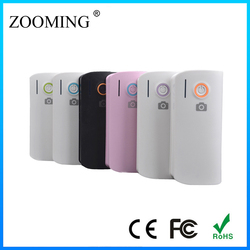 2015 Hot!new product slim led powerbank 5600mah 2.1A portable external charger mobile power supply for tabletpc