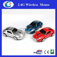 Promotional Giveaways 2.4Ghz Wireless Optical Mouse Car Shape