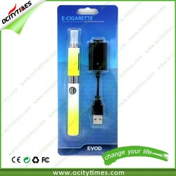 Ocitytimes New Product Evod MT3 Blister pack Top selling dry herb vaporizer wax pen Rechargeable evod twist battery