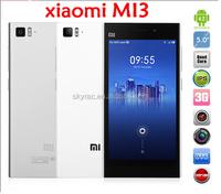 In Stock 5.0inch Android Cellphone Xiaomi m3 16GB wifi NFC mobile phone 2GB RAM Xiaomi mi3