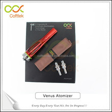 Best try herb vape pen for sale 2015 new arrival cofttek venus red atomizer dry herb vape pen factory price