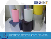 pvc super clear film rigid sheet for roll with clear printing