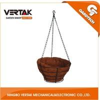 hanging flower basket wholesale,metal plant hanging basket,display hanging basket racks