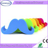 desktop soft silicone moustache mobile phone holder stand mini cute phone stand holder