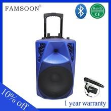 Professional active trolley speaker portable mini speaker peugeot 5008 car radio